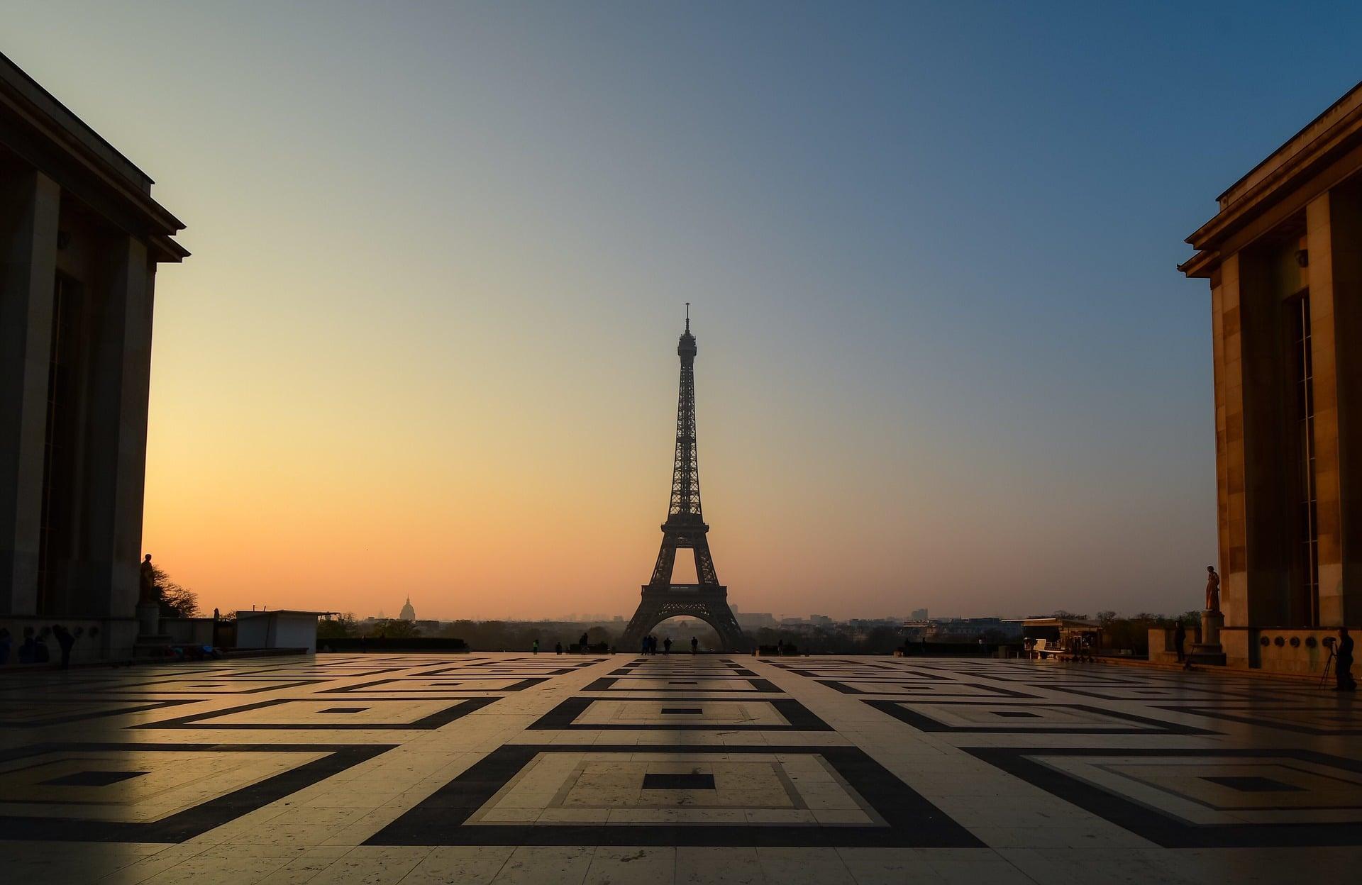 Tour Eiffel et Trocadero
